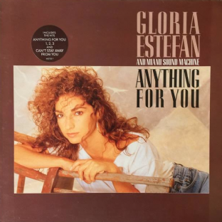 Gloria Estefan And Miami Sound Machine - Anything For You (LP) (VG+/VG)